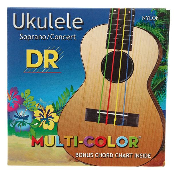DR Strings Multi-Color UMCSC Ukulele