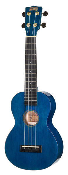 Mahalo Hano Concert Trans Blue