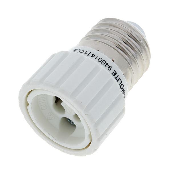 Eurolite Socket Adapter E-27 auf GU-10