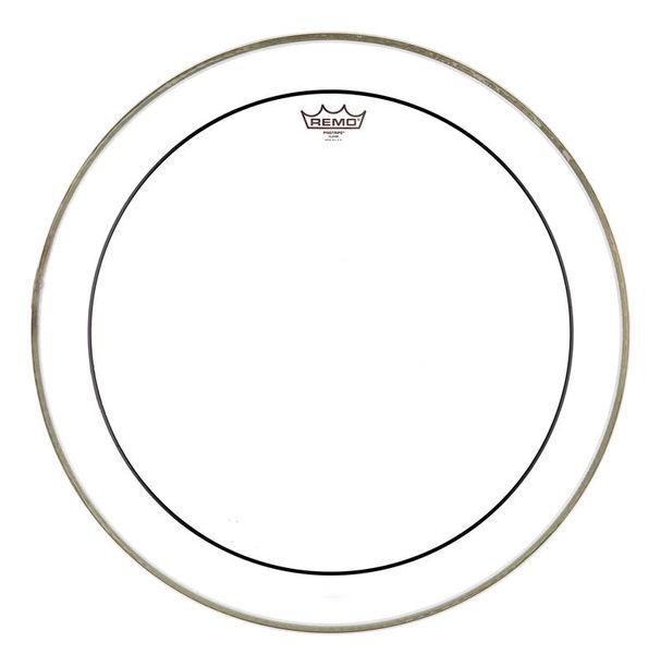 "Remo 30"" Pinstripe Clear Bass Drum"