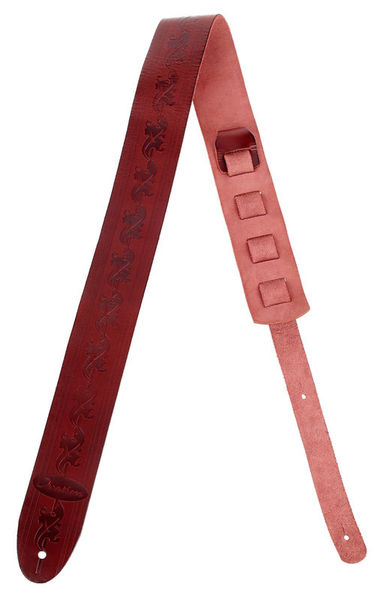 Ovation Premium Leatherstrap Ruby Red