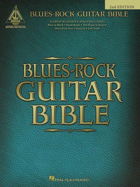 Hal Leonard Blues-Rock Guitar Bible