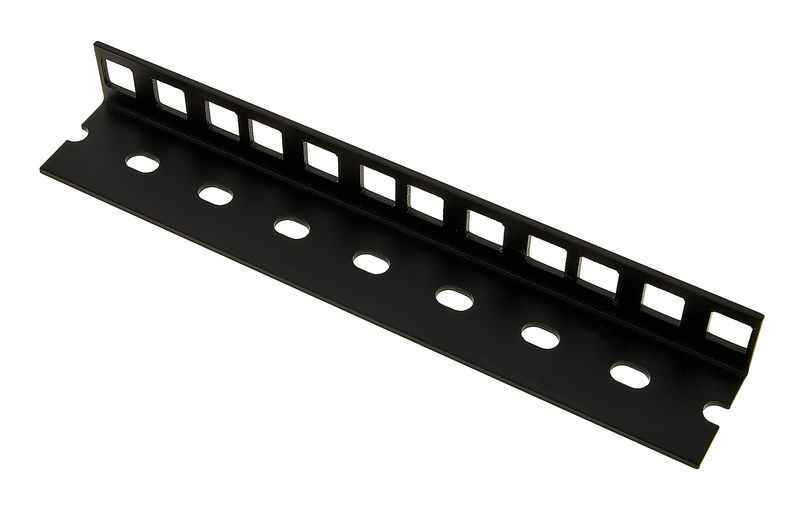 Adam Hall 61535B4 Rack Strip 4U blk