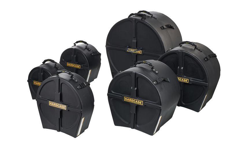 Hardcase Drum Case Set HRockFus6