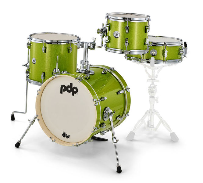 DW PDP New Yorker Shell Set Green
