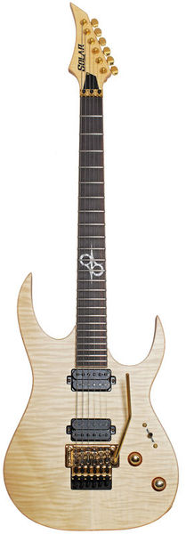 SB1.6FRFM Flame Natural Solar Guitars
