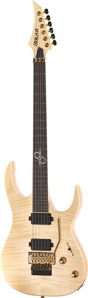 Solar Guitars SB1.6FRFM Flame Natural