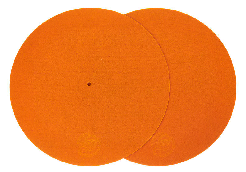 "Serato 12""Slipmats Mix-Edition Orange"
