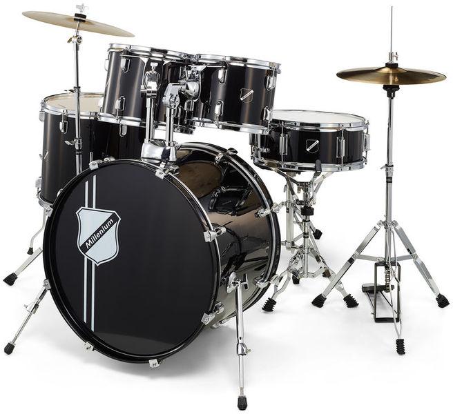 Millenium Focus 20 Drum Set Black