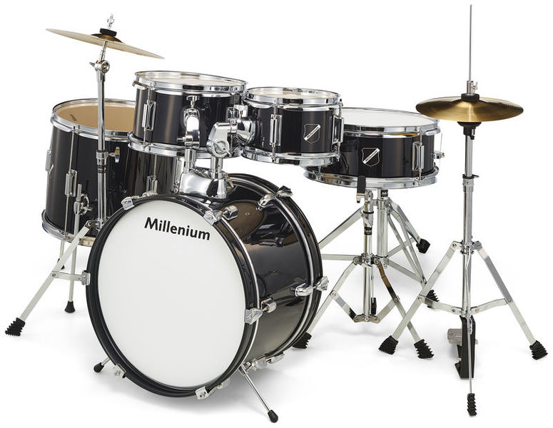 Millenium Focus Junior Drum Set Black