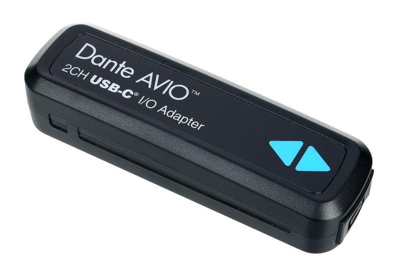 Dante AVIO USB-C IO Adapter 2x2