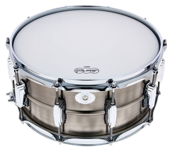 "Ludwig 14""x6,5"" Pewter Copper Snare"