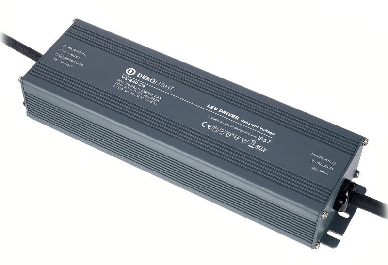 KapegoLED Power Supply IP CV V6-240-24