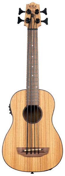Kala U-Bass Zebrawood 4 NT