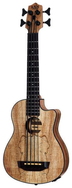 Kala U-Bass Spalted Maple 4 NT