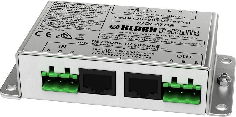 Qflex Isolator Klark Teknik