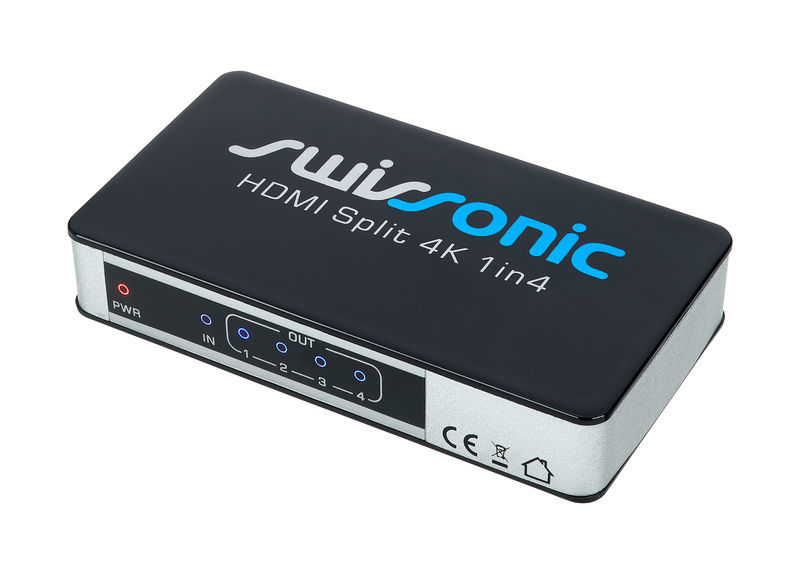 HDMI Split 4K 1in4 Swissonic
