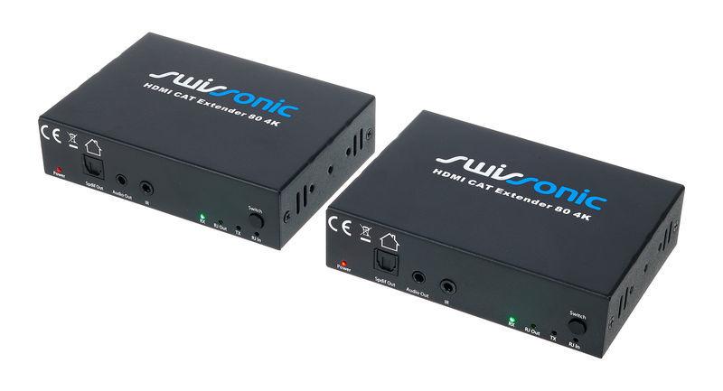 Swissonic HDMI CAT Extender 80 4K UHD