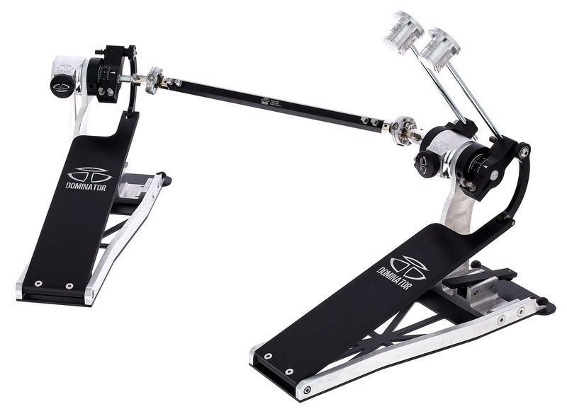 Dominator Double Pedal Silver Trick Drums