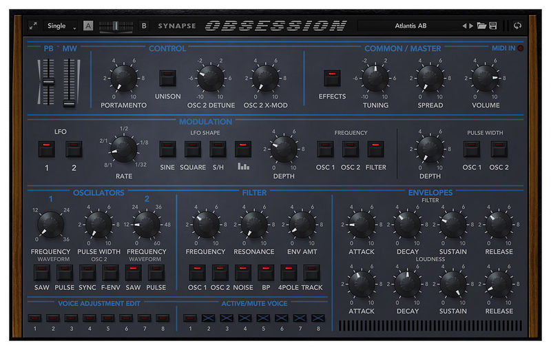 Synapse Audio Obsession
