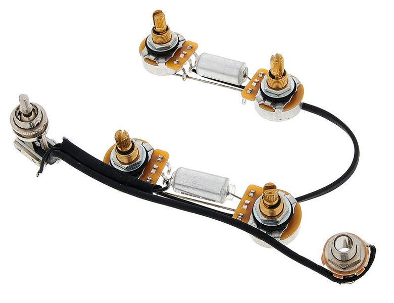 Mojotone Semi-Hollow Prewired Harness