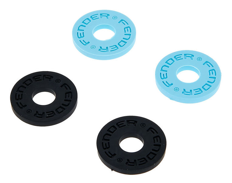Fender Strap Blocks Black/Daphne Blue
