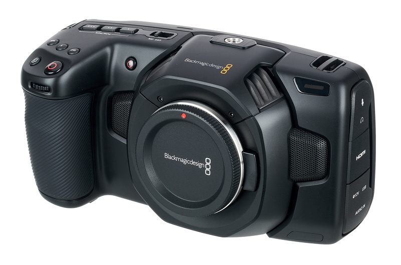 Blackmagic Design Pocket Cinema Camera 4k Thomann Uk