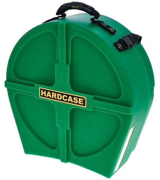 "Hardcase 14"" Snare Case F.Lined D.Green"