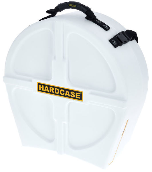 """Hardcase 14"""" Snare Case F.Lined White"""