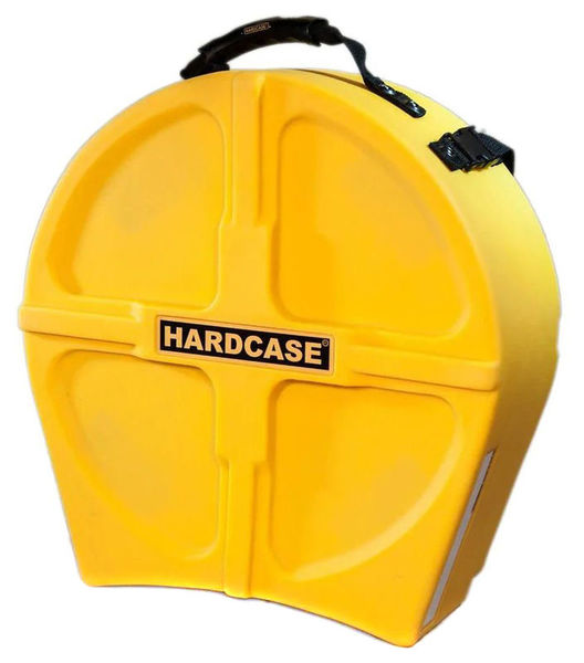 """Hardcase 14"""" Snare Case F.Lined Yellow"""
