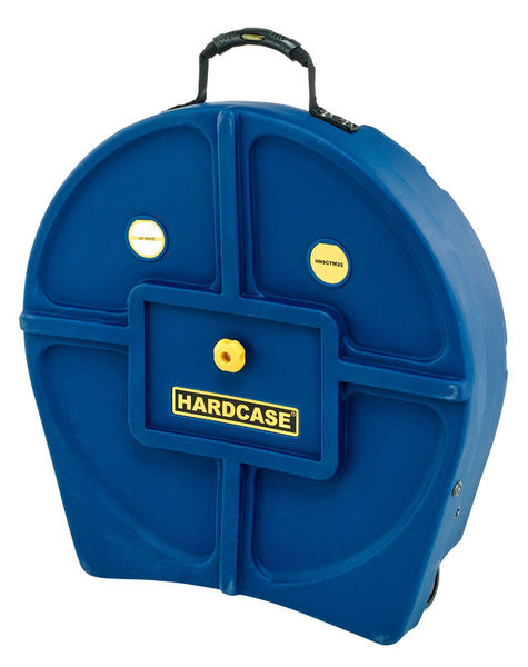 "Hardcase 22"" Cymbal Case Dark Blue"