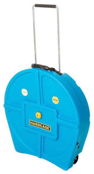 """22"""" Cymbal Case Light Blue Hardcase"""