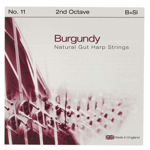 Bow Brand Burgundy Ped. 2nd B Gut No.11
