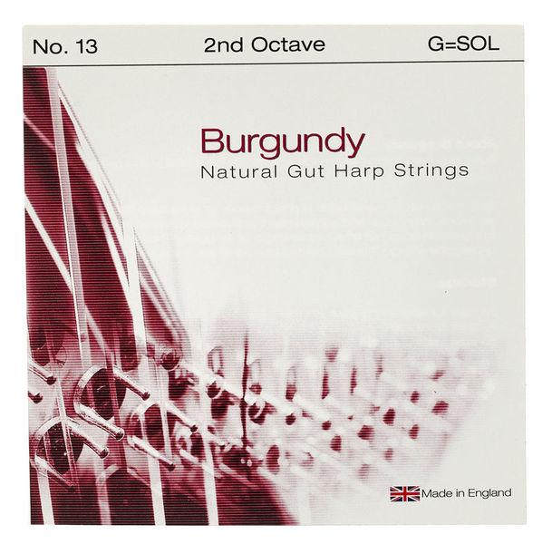 Bow Brand Burgundy Ped. 2nd G Gut No.13