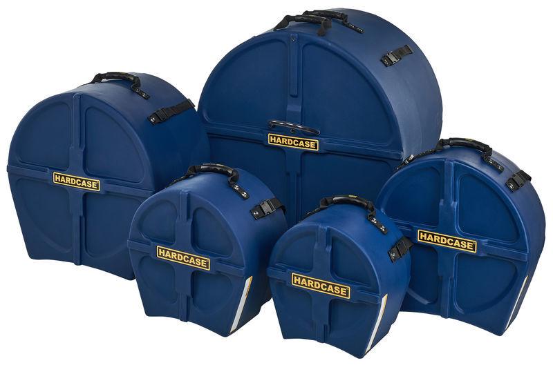 Hardcase HRockFus3 F.Lined Set D.Blue
