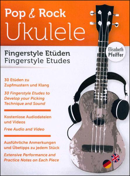 Elisabeth Pfeiffer Ukulele Fingerstyle Etüden