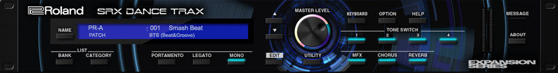 Roland Cloud SRX Dance Trax