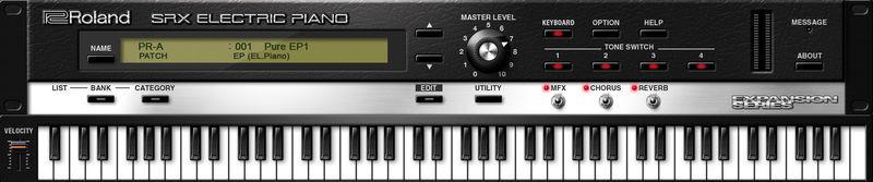 Roland Cloud SRX Electric Piano