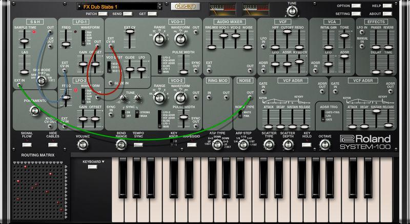 Roland Cloud System-100