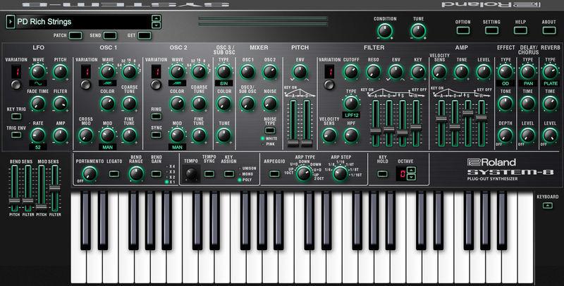 Roland Cloud System-8