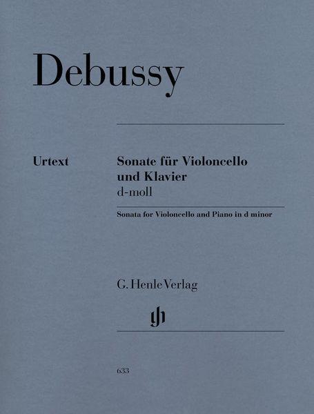 Henle Verlag Debussy Cellosonate d-moll