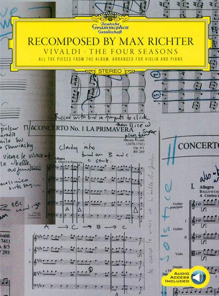 Chester Music Vivaldi Four Seasons M.Richter