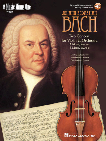 Music Minus One Bach Violin Concerto No.1
