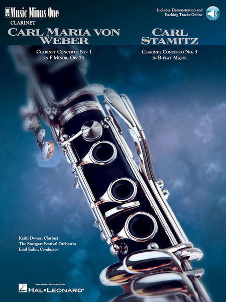 Music Minus One Weber Clarinet Concerto No. 1