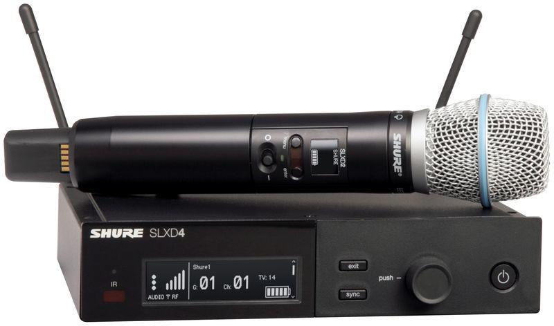 Shure SLXD24E/Beta87A S50