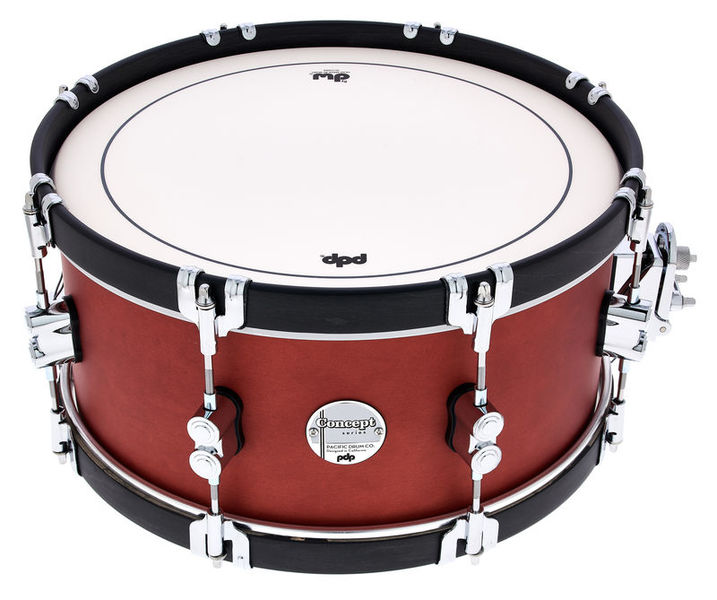 """DW PDP 14""""x6,5"""" Ox Blood Snare"""