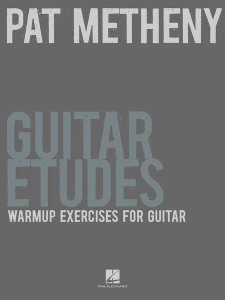 Wise Publications Pat Metheny Guitar Etudes