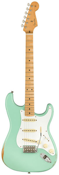 Fender 50 Strat Road Worn Surf Green