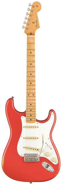 Fender 50 Strat Road Worn Fiesta Red