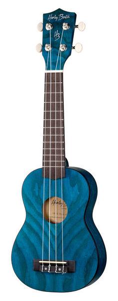 Harley Benton UK-12 Stain Ash Blue